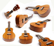 Guitars or Ukelele collection Stock Image