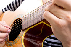 Guiter player Royalty Free Stock Images