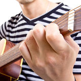 Guiter player Royalty Free Stock Image