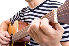 Guiter player Stock Photo