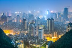 Guiyang, China City Skyline Stock Photography