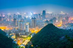 Guiyang, China Cityscape Stock Images