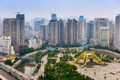 Guiyang China Skyline Royalty Free Stock Images