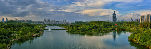 Guiyang city skyline Royalty Free Stock Images