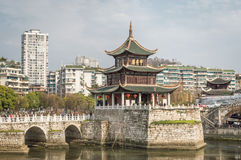 Guiyang Jiaxiu Tower Stock Photos