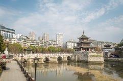 Guiyang Jiaxiu Tower scenery Stock Photography