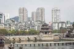 Guiyang Jiaxiu Tower scenery 2 Stock Photography