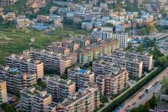 Guiyang villege cityscape,china Royalty Free Stock Photos