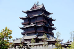 Guiyuan Boeddhistische Tempel Royalty-vrije Stock Foto