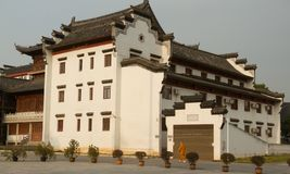 Guiyuan Boeddhistische Tempel in Wuhan, China royalty-vrije stock foto