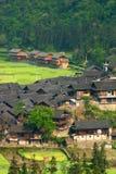 Guizhou Chinese village miu village Stock Photos