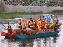 guizhou för fartygdrakefestival huishui Royaltyfri Bild