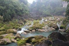 Guizhou Huangguoshu Falls area Stock Images