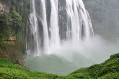 Guizhou huangguoshu waterfall. Photo taken on: October 1th, 2012 Royalty Free Stock Photos
