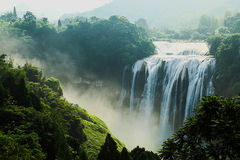 Guizhou Huangguoshu waterfall scenery. Eastphoto, tukuchina,  Guizhou Huangguoshu waterfall scenery Stock Photography