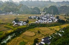 Guizhou scenery. China southwest Guizhou mountian scenery royalty free stock photo