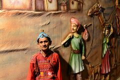 Gujarat kultur royaltyfria bilder