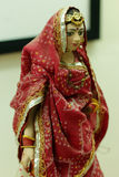Gujarati Indian Women cloth Doll Royalty Free Stock Images