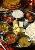 Gujarati Thali Royalty Free Stock Image