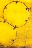Gul abstactbakgrund Arkivbild