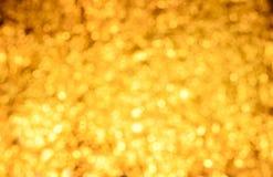 Gul abstrakt bakgrund Royaltyfri Fotografi