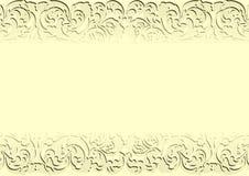 Gul bakgrund Royaltyfria Foton