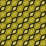 gul bakgrund Royaltyfria Bilder