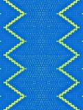Gul blandningblåtttextur med gränser Arkivfoton