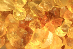 Gul citrinebakgrund Royaltyfria Bilder