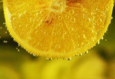 Gul citron Arkivbild