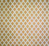 Gul damast bakgrund royaltyfria foton
