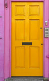 Gul dörr Arkivfoton