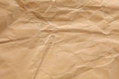 Gul för papper textur katastrofalt Royaltyfria Foton