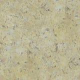 Gul forntida sandsten med bruna fläckar Arkivfoto