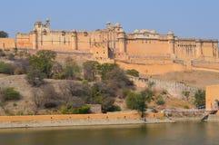 gul fort Royaltyfria Foton