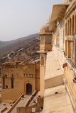 gul fort Royaltyfri Fotografi