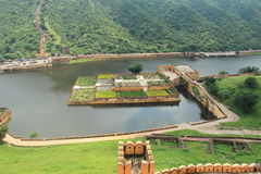 Gul Fort i jaipur. Arkivfoto