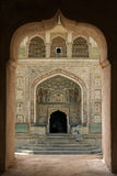 gul fort india jaipur Royaltyfria Bilder