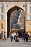 gul fort india jaipur Royaltyfria Foton