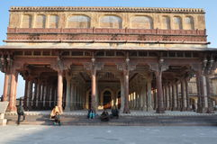 gul fort india jaipur Arkivbilder