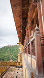 gul fort india jaipur royaltyfria foton