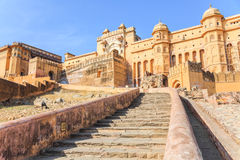 gul fort jaipur Arkivbild