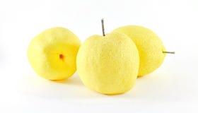 Gul frukt Royaltyfria Foton