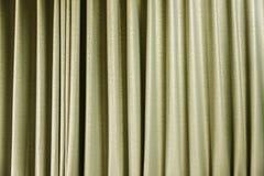 Gul gardin, abstrakt textur för bakgrund Royaltyfri Fotografi