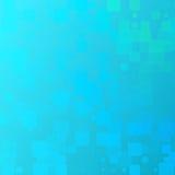 Gul glödande rundad tegelplattabakgrund för turkosblått vektor illustrationer