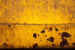 Gul guld Rusty Brown Background Texture Arkivbild