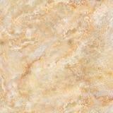 Gul marmor, marmortextur, marmoryttersida, sten för design Specificera dekorativt arkivfoto