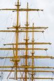 Gul mast Arkivbilder