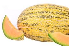 Gul melon Fotografering för Bildbyråer