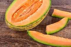 Gul melon Royaltyfria Bilder